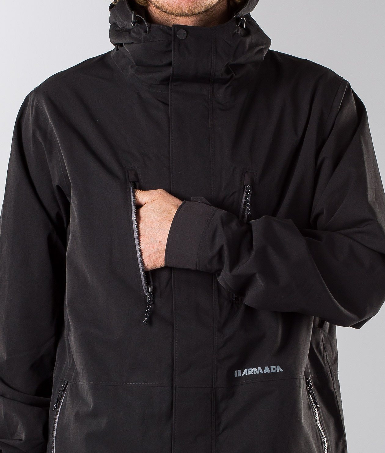 Armada Aspect Ski Jacket Black - Ridestore.com 5d81be339