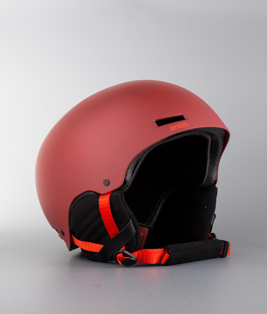 Anon Raider Skihelm Red