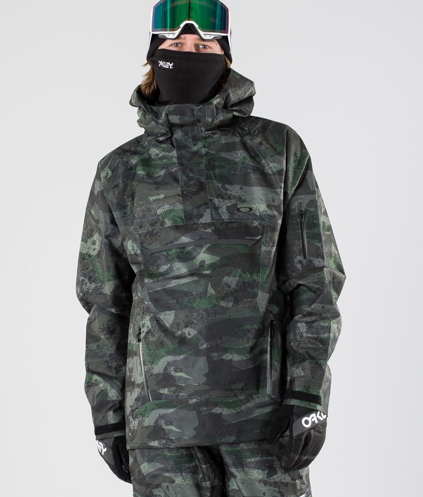 Oakley Snow Shell 10K/ 2L Anorak Snowboardjacka Camou