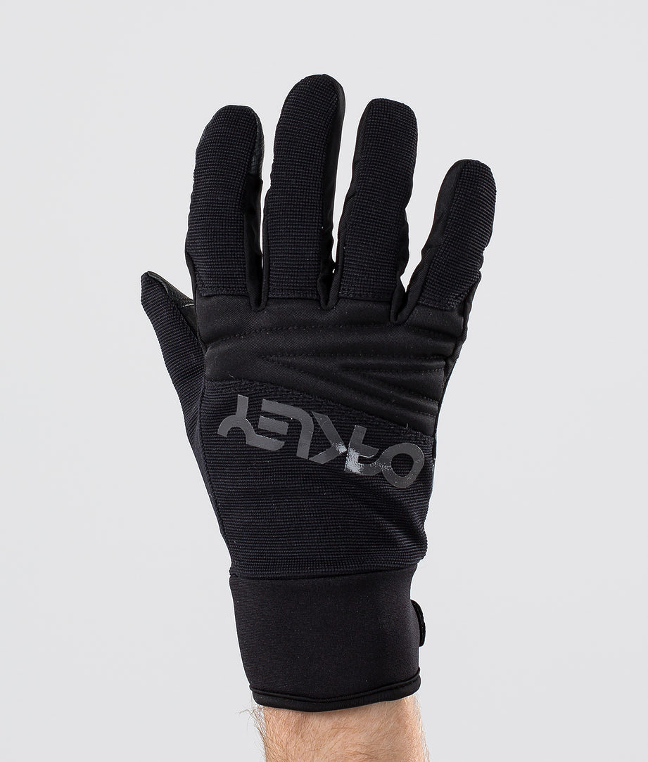 Oakley Factory Park Ski Gloves Blackout