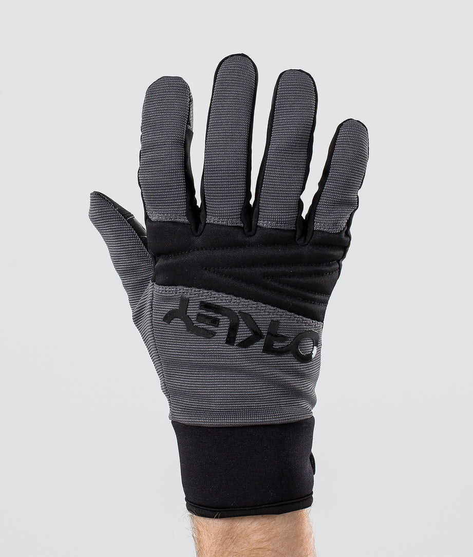 Oakley Factory Park Ski Gloves Forged Iron
