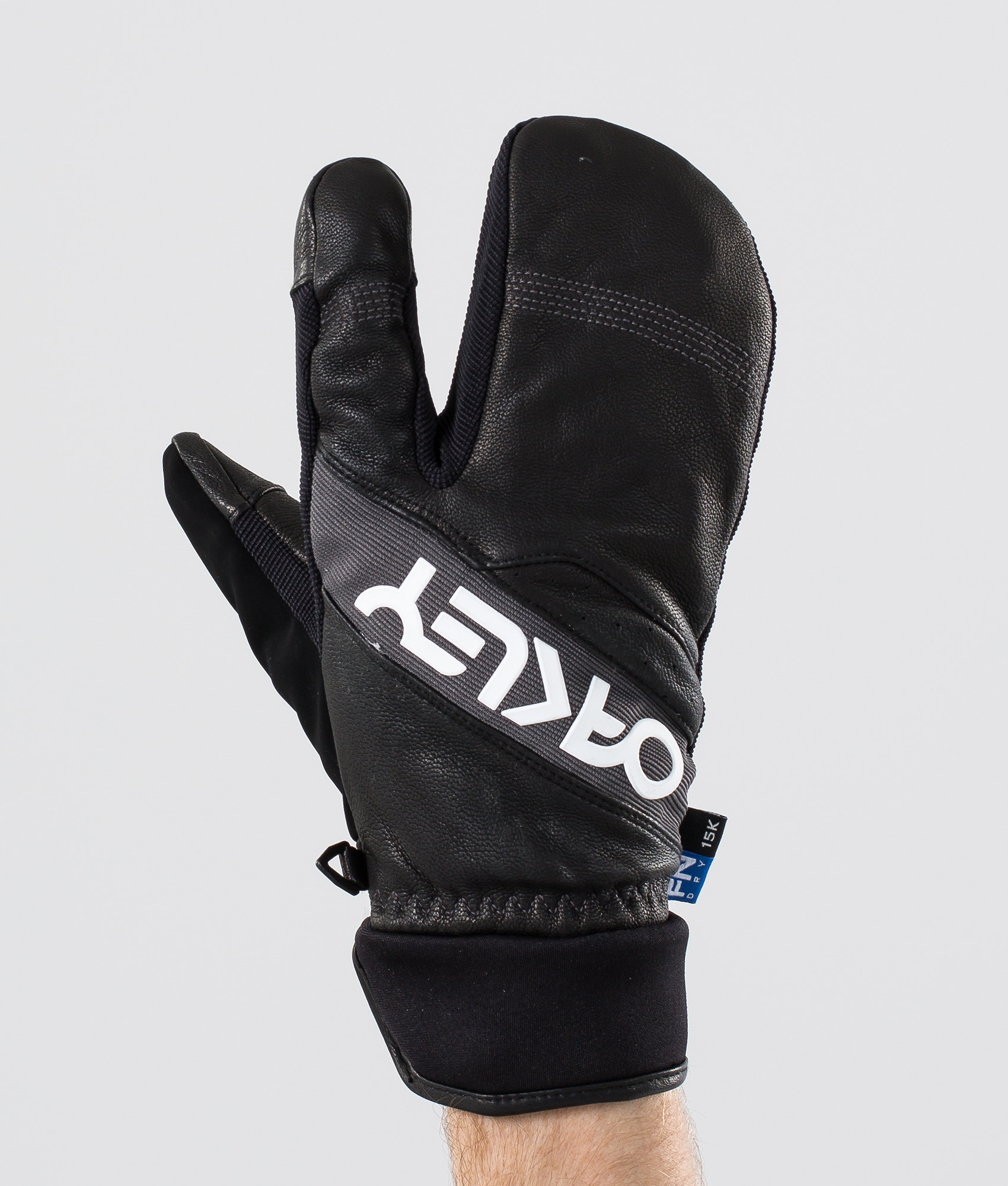 de8a7c000acc1 Oakley Factory Winter Trigger 2 Ski Gloves Blackout - Ridestore.com