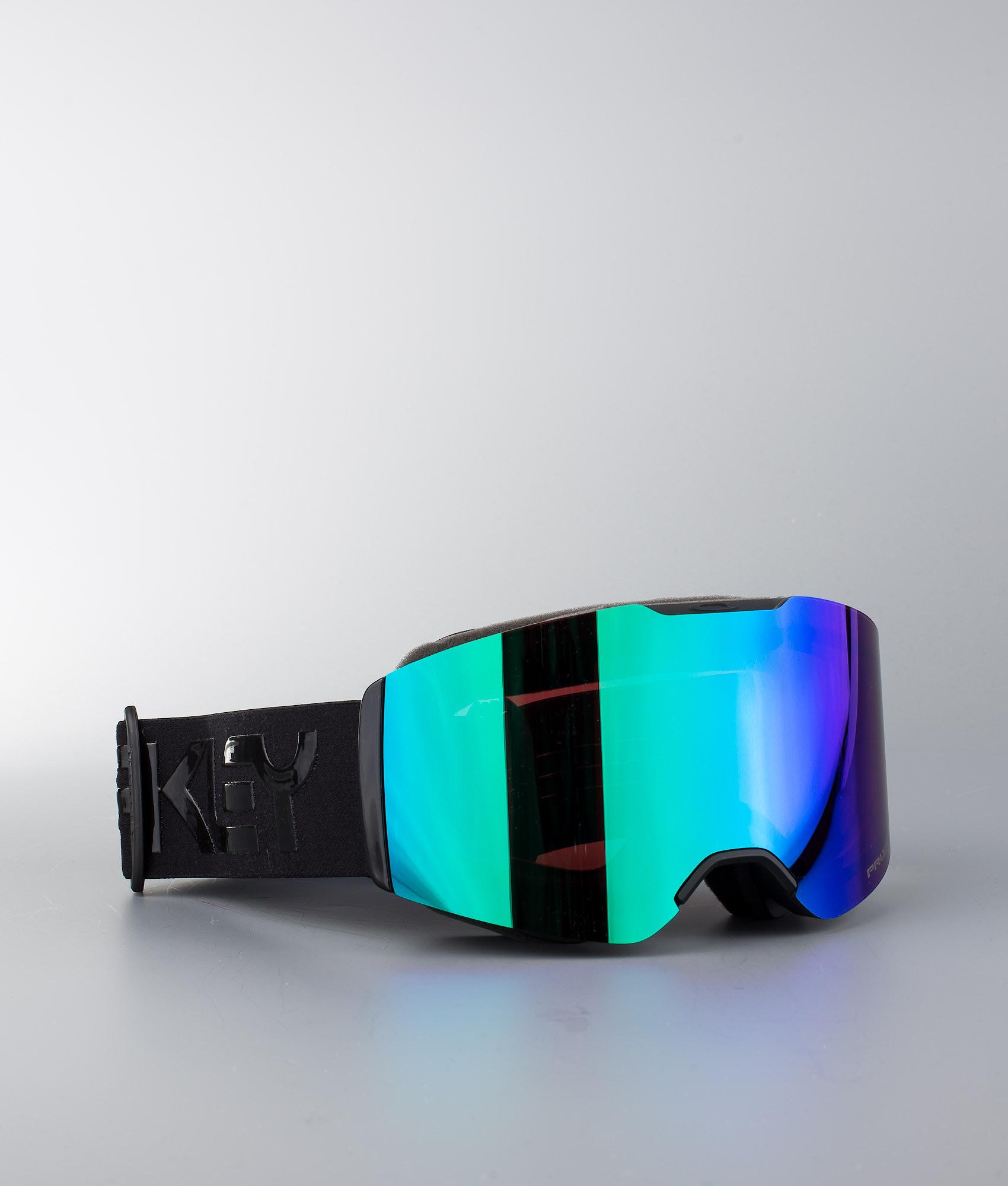 ec0eda246ec8 Oakley Fall Line Ski Goggle Factory Pilot Blackout W Prizm Snow Jade ...