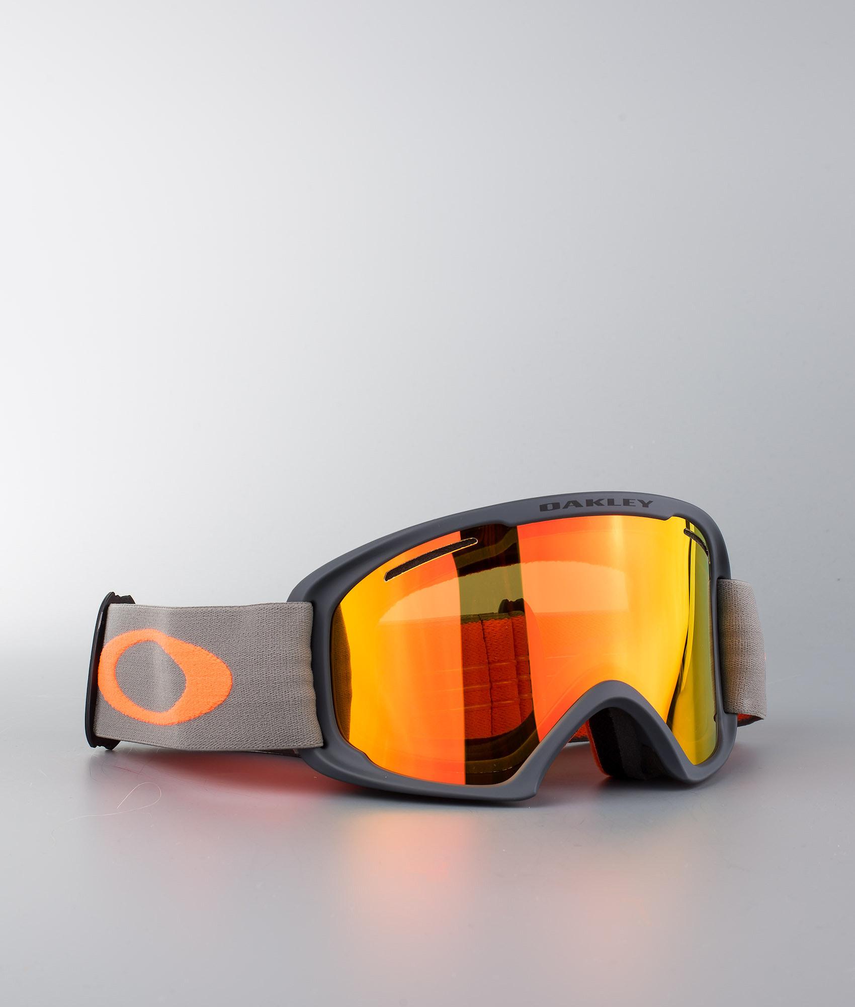 e85cca19a2 Oakley O Frame 2.0 XL Ski Goggle Forged Iron Brush W Fire Iridium ...