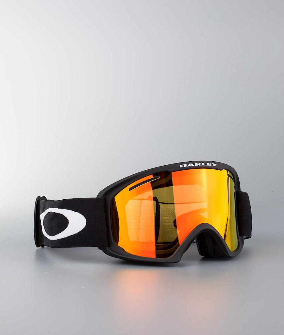 Oakley O Frame 2.0 XL Ski Goggle Matte Black W/Fire Iridium