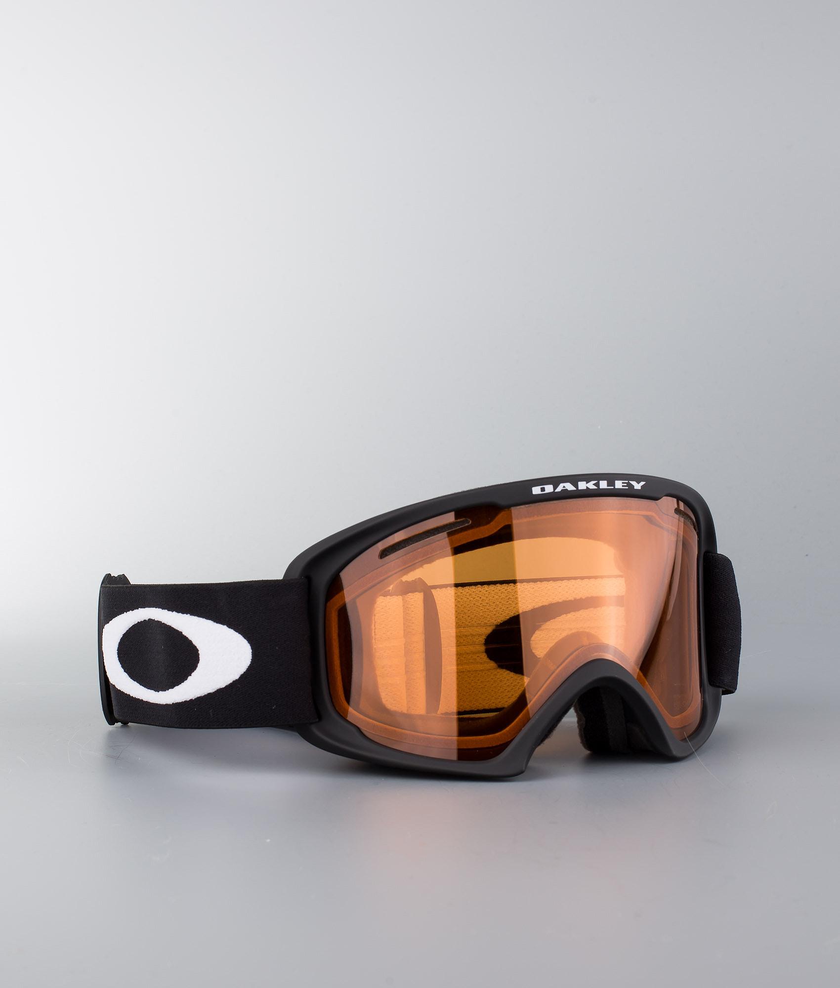 5088c0ebca Oakley O Frame 2.0 XL Ski Goggle Matte Black W Persimmon - Ridestore.com