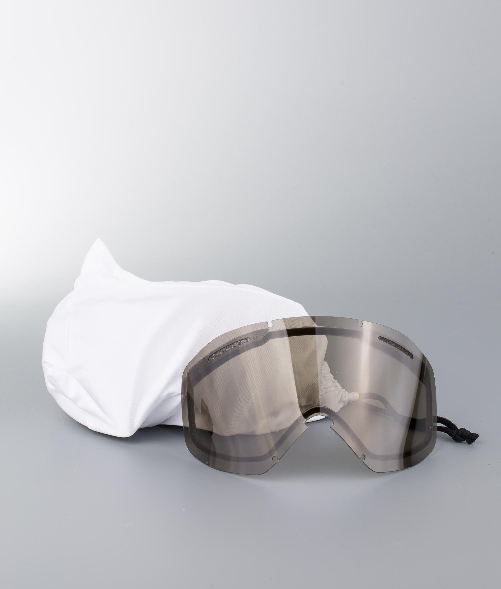 Oakley O Frame 2.0 XL Ski Goggle Matte Black W/Persimmon - Ridestore.com