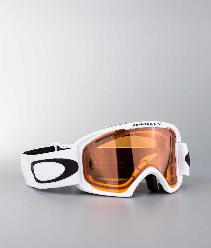 Oakley O Frame 2.0 XL Ski Goggle Matte White W/Persimmon
