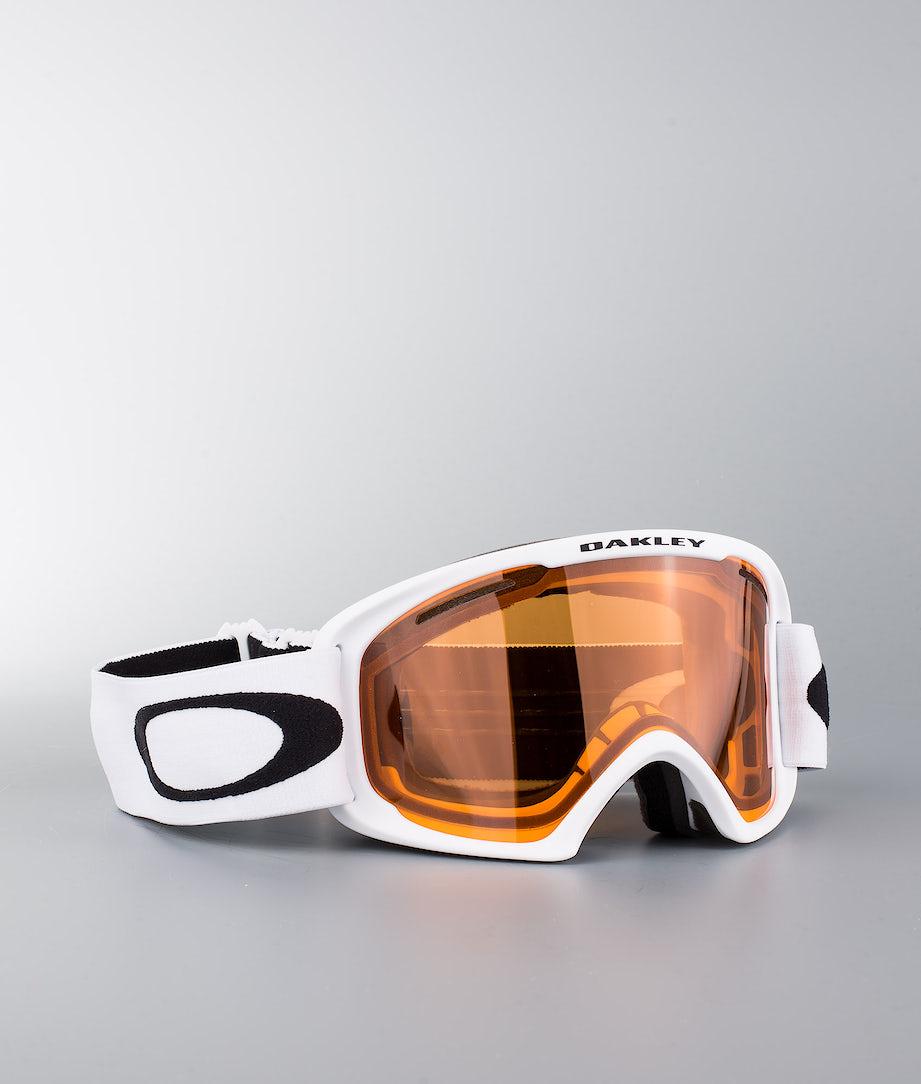 Oakley O Frame 2.0 XL Skibriller Matte White W/Persimmon