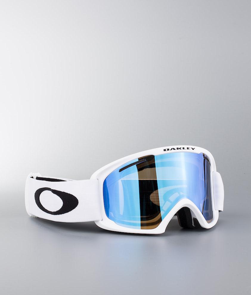 Oakley O Frame 2.0 XL Ski Goggle Matte White W/Violet Iridium