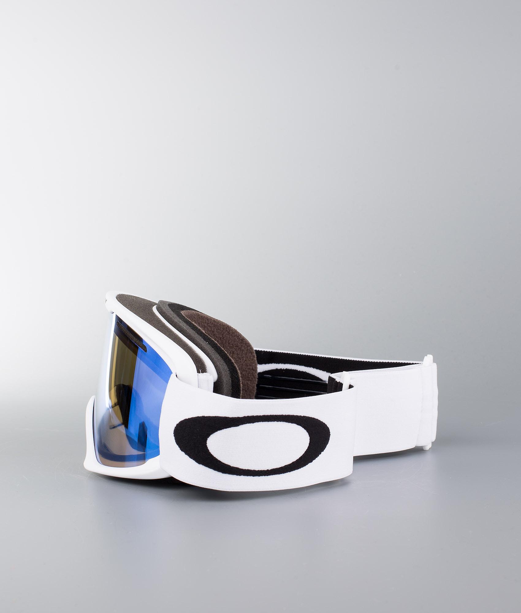 3b851db32e Oakley O Frame 2.0 XL Ski Goggle Matte White W Violet Iridium ...