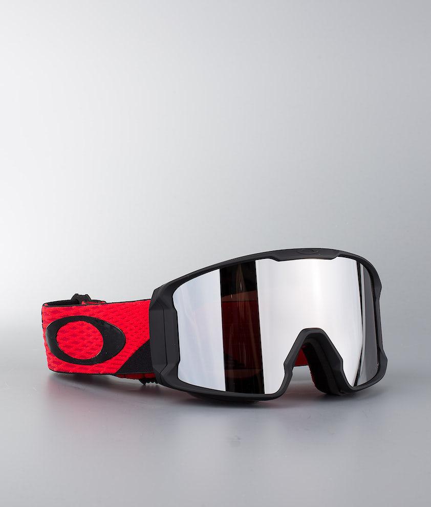 Oakley Line Miner Ski Goggle Harlaut Sig Shredbot Red Black W/ Prizm Snow Black Iridium