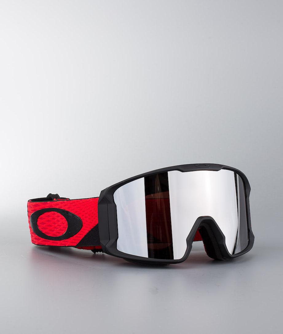 Oakley Line Miner Masque de ski Harlaut Sig Shredbot Red Black W/ Prizm Snow Black Iridium