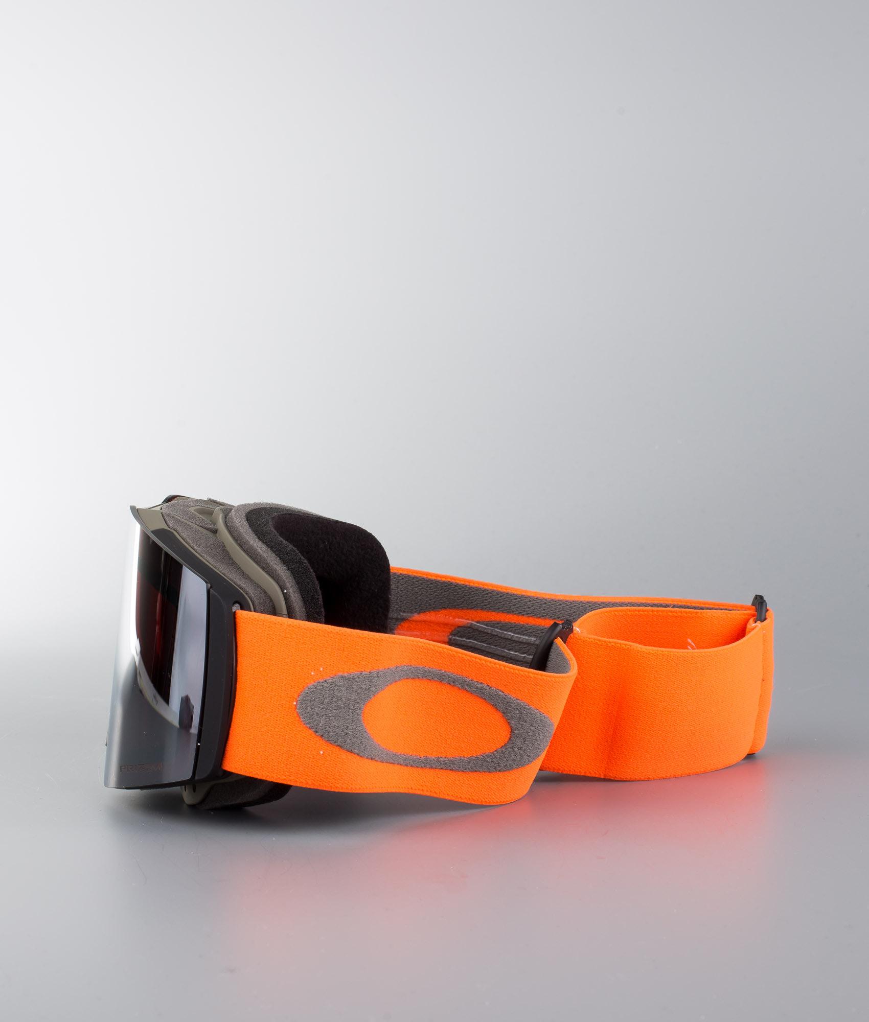 be91777151b Oakley Fall Line Ski Goggle Orange Brush W Prizm Snow Black Iridium ...
