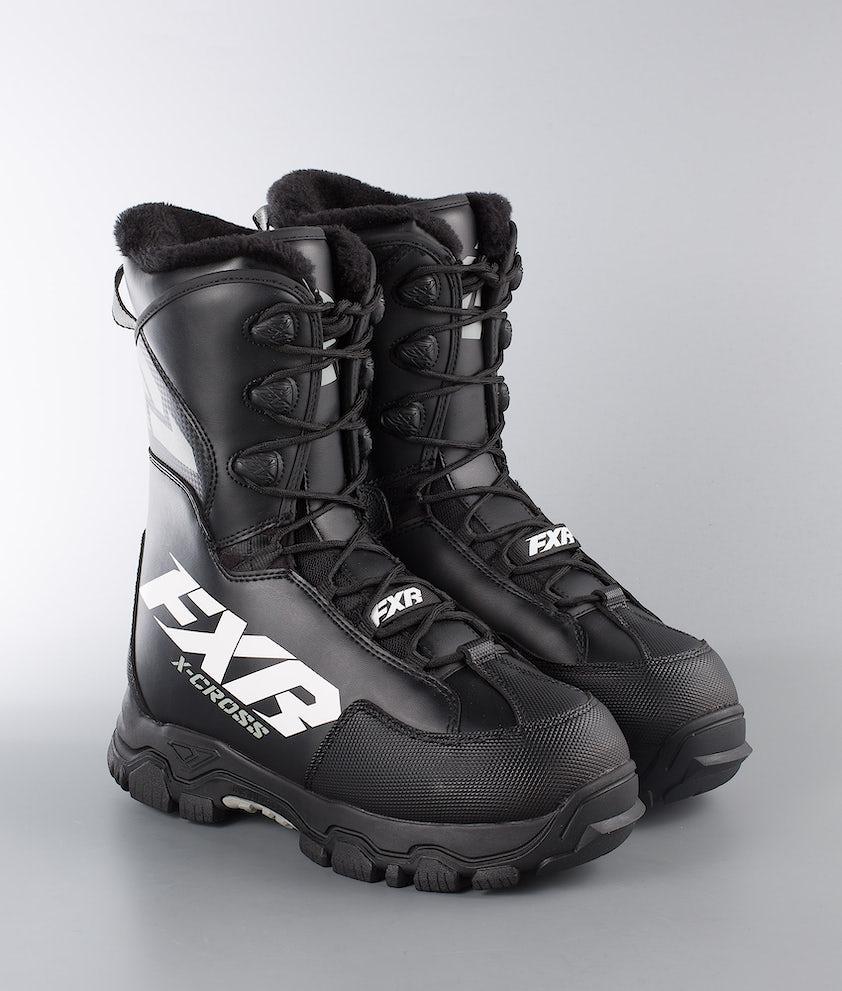 FXR X-Cross Speed Snøscooterstøvler Black