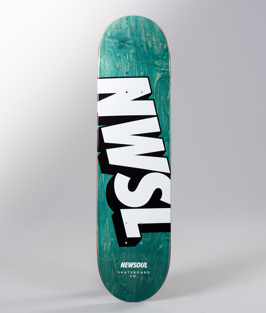 Newsoul NWSL Logo Skateboard Wood