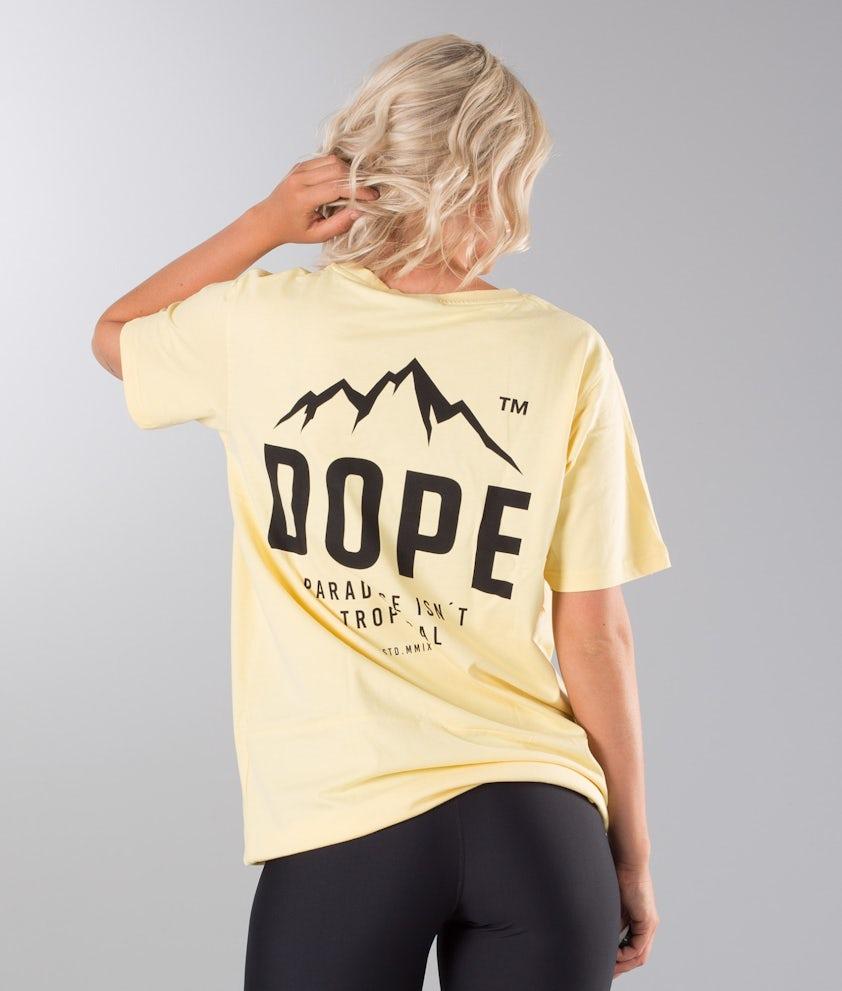 Dope Paradise II Unisex T-shirt Yellow