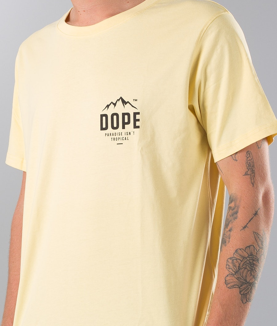 Dope Paradise II T-Shirt Faded Yellow