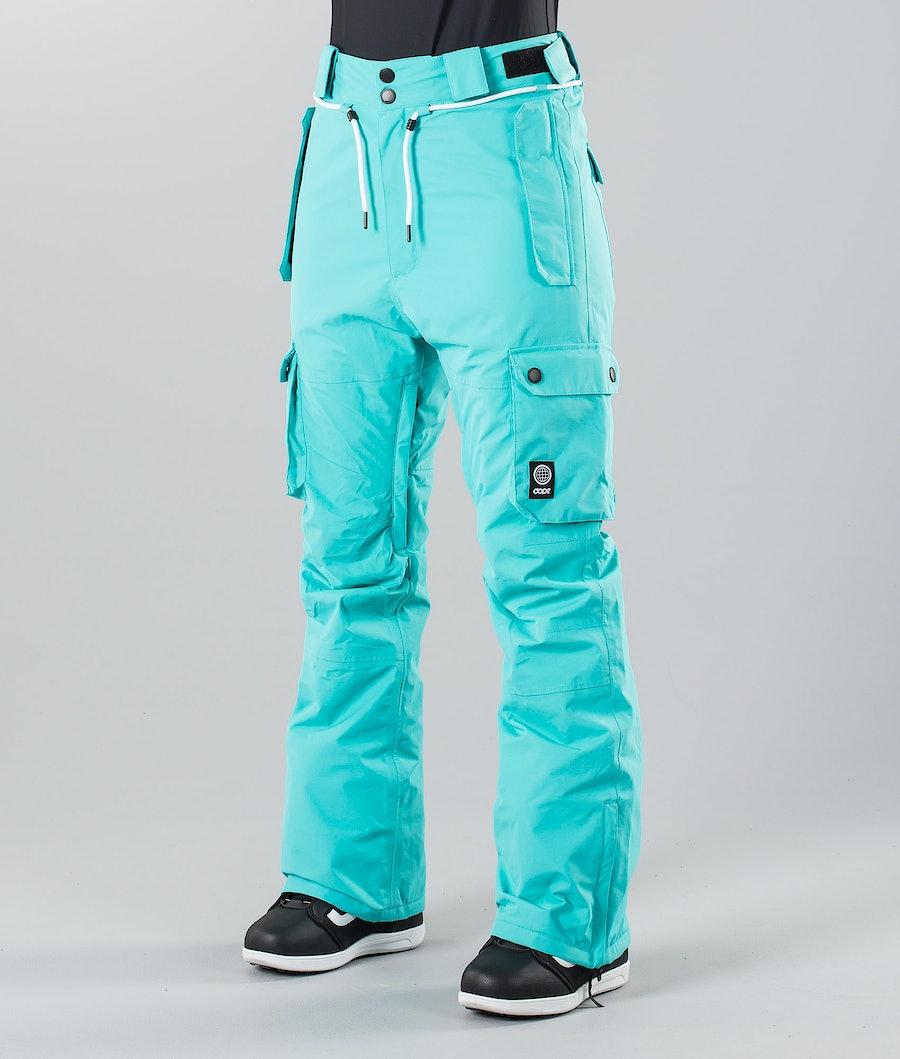 Dope Iconic W 18 Snowboardbyxa Azure