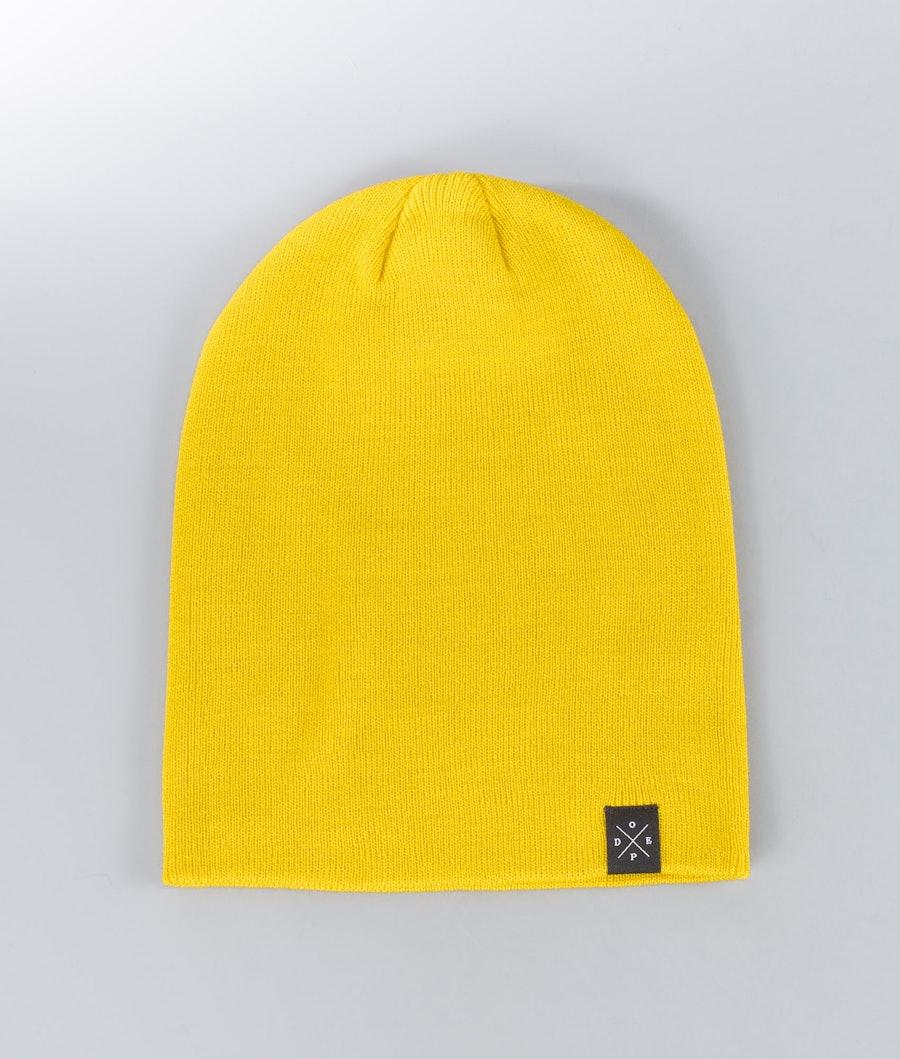 Dope Solitude Beanie Yellow