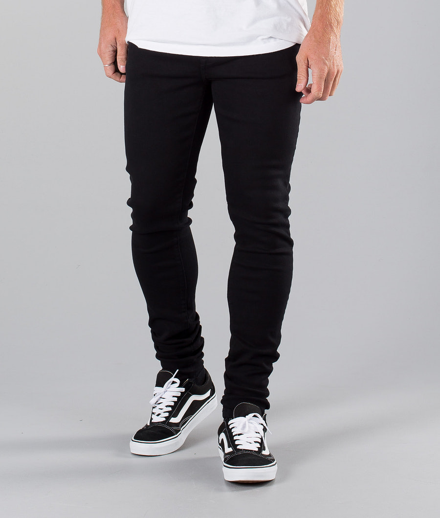 Dr Denim Leroy Pants Black