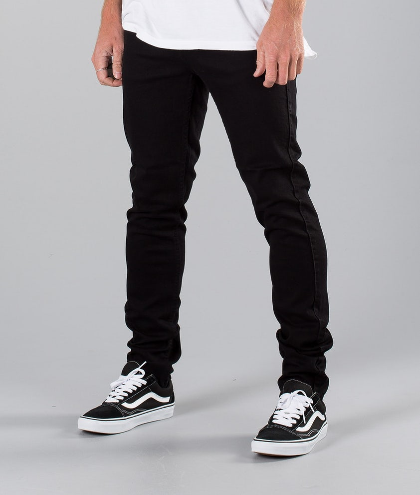 Dr Denim Clark Byxa Black