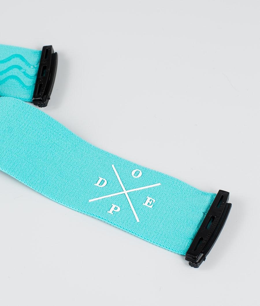 Dope 2X-UP Strap Goggle Tilbeør Azure