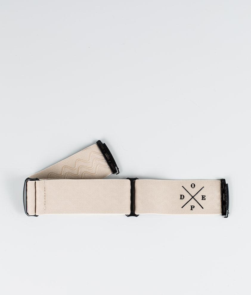 Dope 2X-UP Strap Skibrille Zubehör Sand