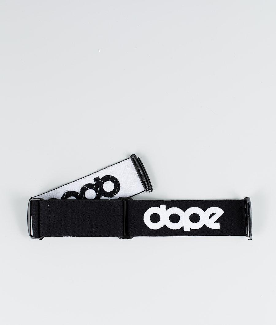 Dope OG Strap Lisävarusteet Laskettelulaseille Black White
