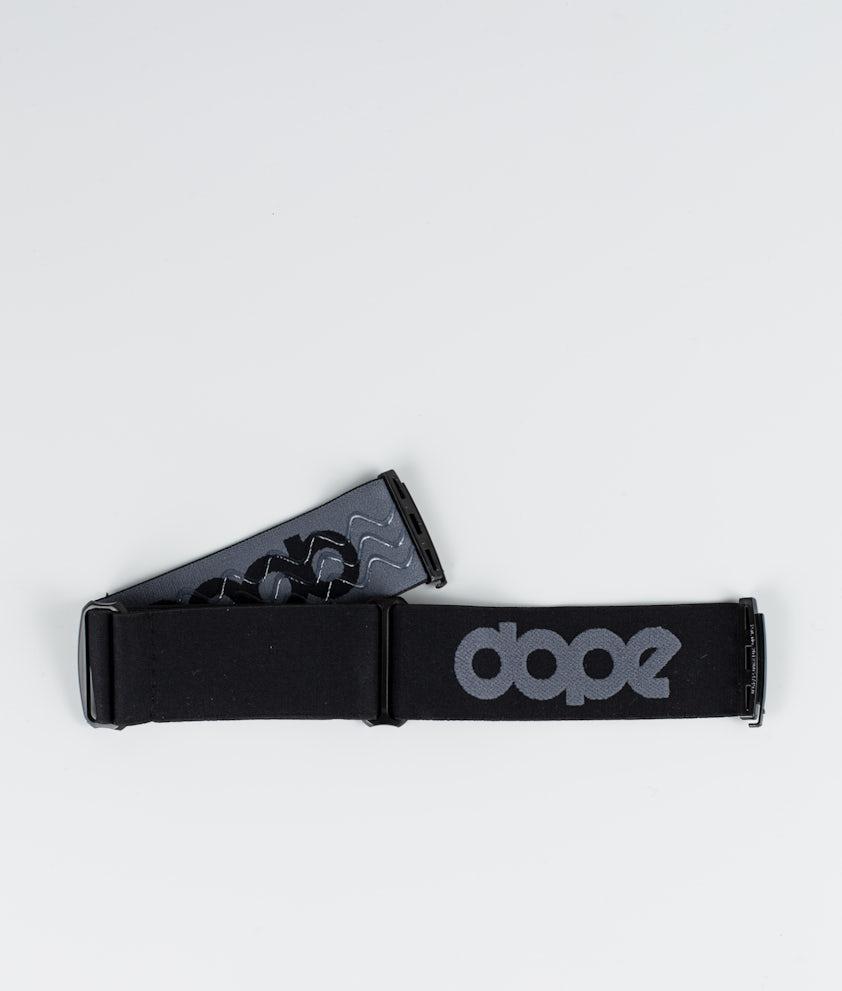 Dope OG Strap Skibrille Zubehör Dark Grey Black