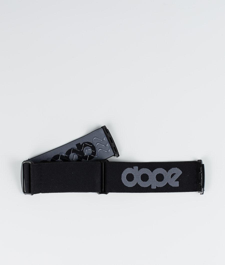 Dope OG Strap Goggle Tilbeør Dark Grey Black