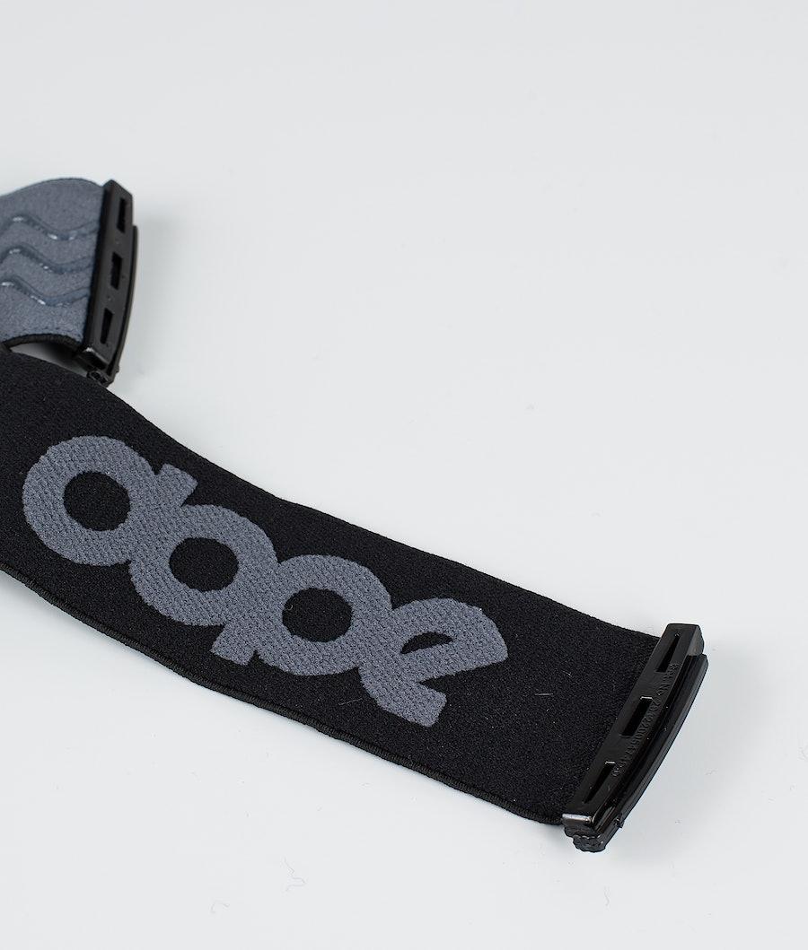 Dope OG Strap Goggle Tillbehör Dark Grey Black