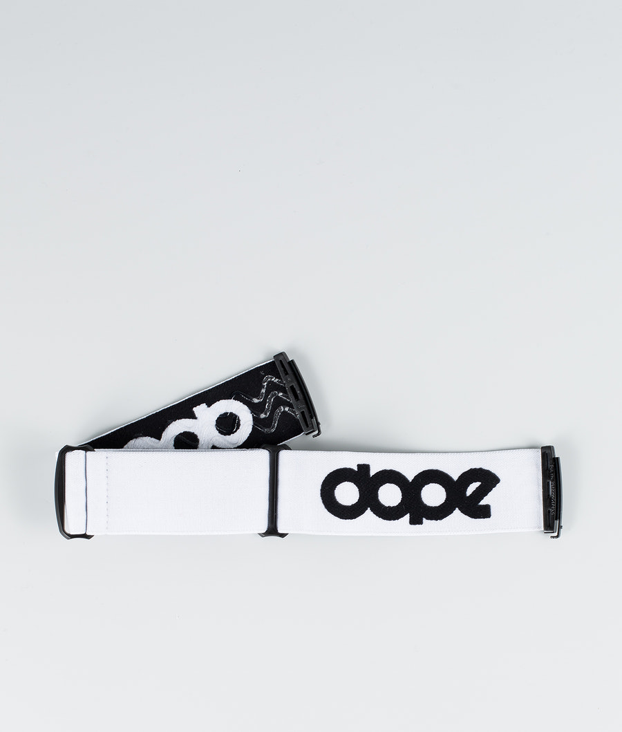 Dope OG Strap Lisävarusteet Laskettelulaseille White Black