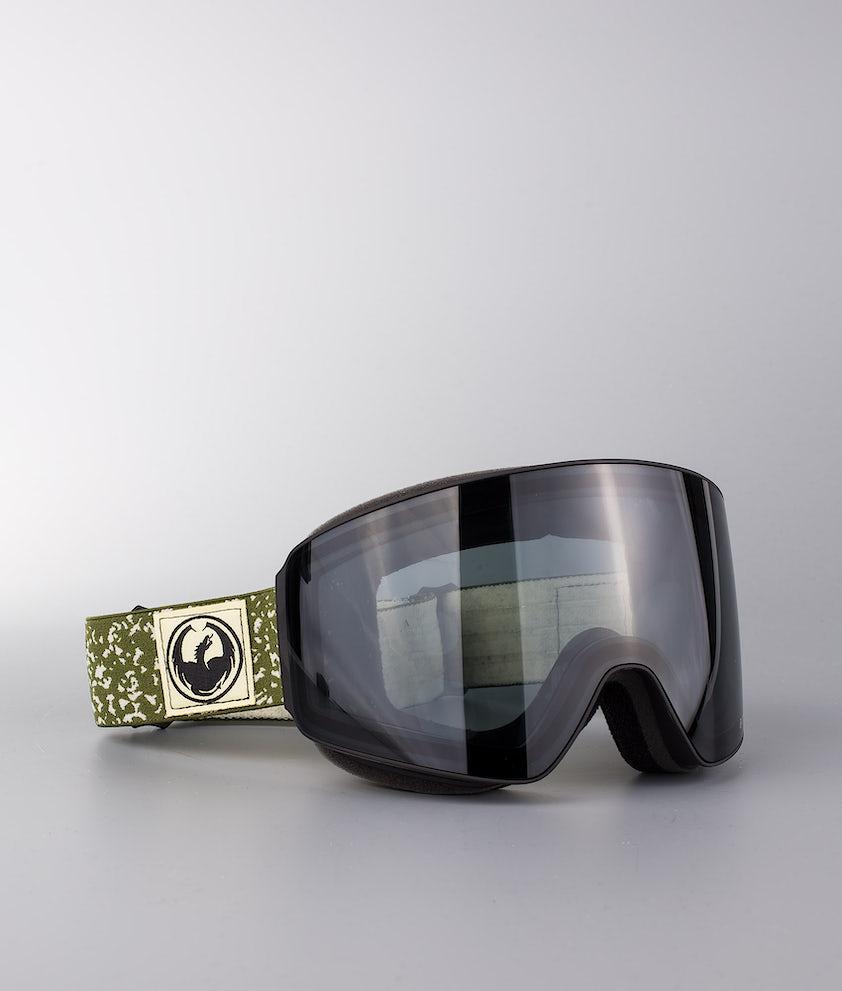 Dragon PXV Ski Goggle Scribe W/Dark Smoke+Lumalens Flash Blue+Lumalens Rose