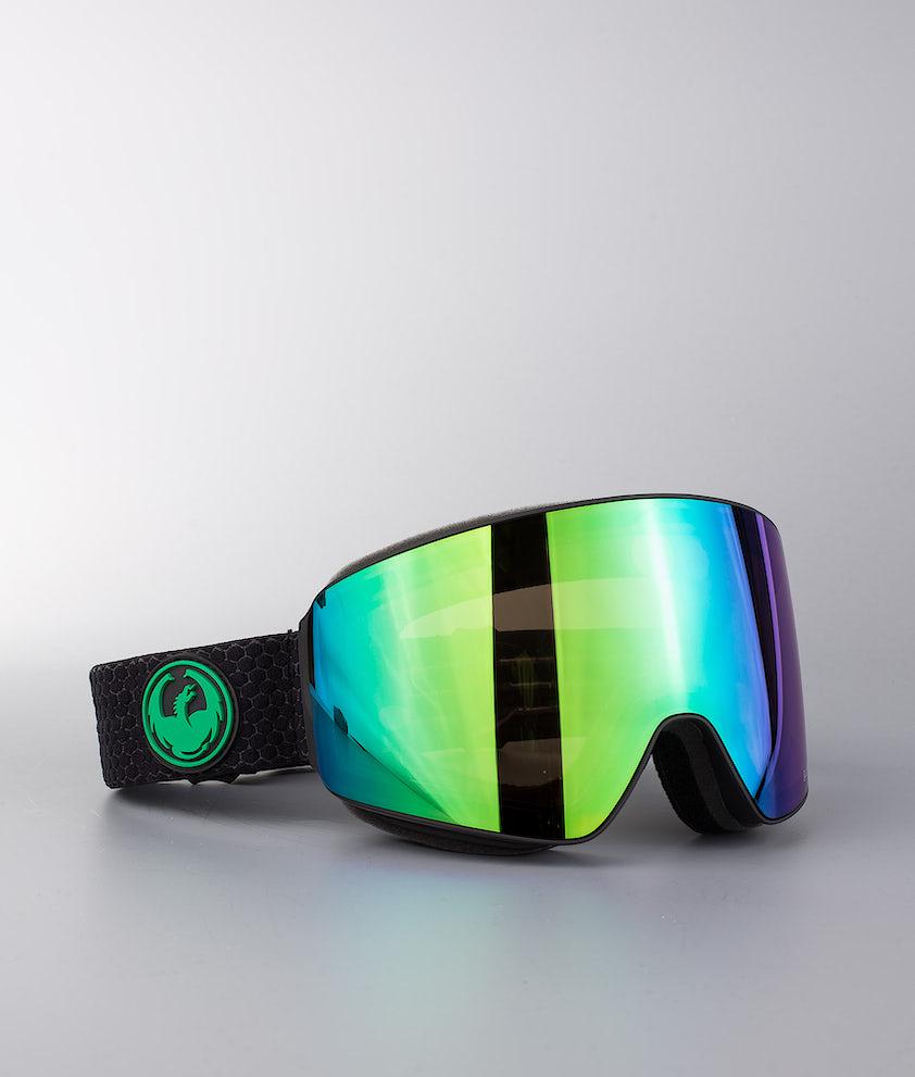 Dragon PXV Ski Goggle Split W/Lumalens Green Ionized+Lumalens Amber