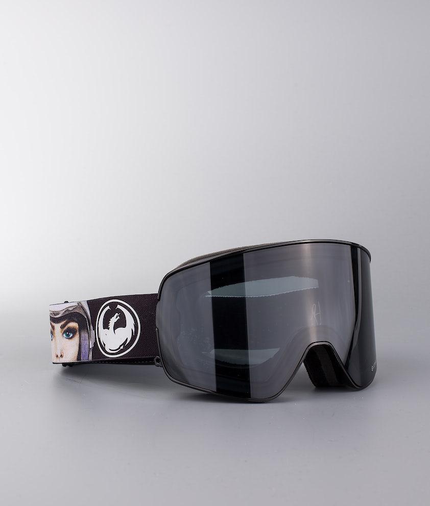 Dragon NFX2 Ski Goggle Blakepaulsig W/Dark Smoke+Lumalens Rose