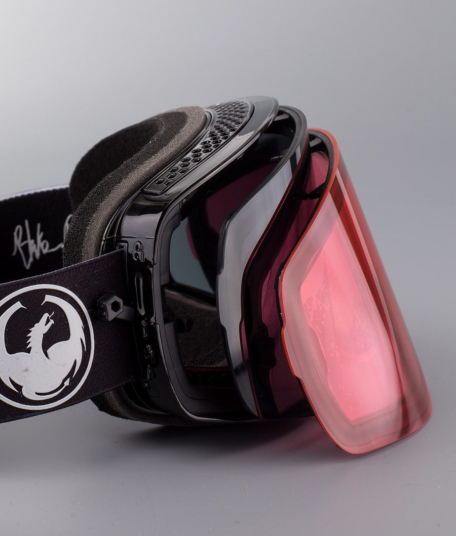 Dragon NFX2 Skibrille Blakepaulsig W/Dark Smoke+Lumalens Rose