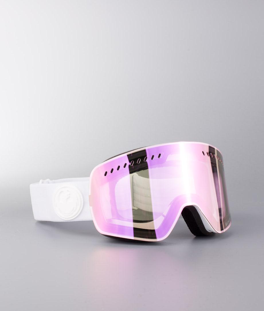 Dragon NFXs Masque de ski Whiteout W/Lumalens Pink Ionized
