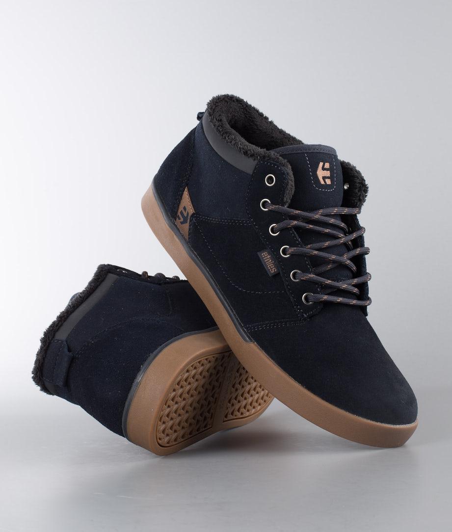 Etnies Jefferson Mid Shoes Navy/Gum