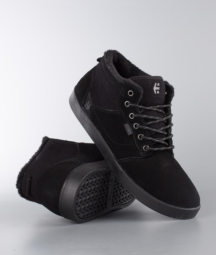 Etnies Jefferson Mid Skor Black/Black