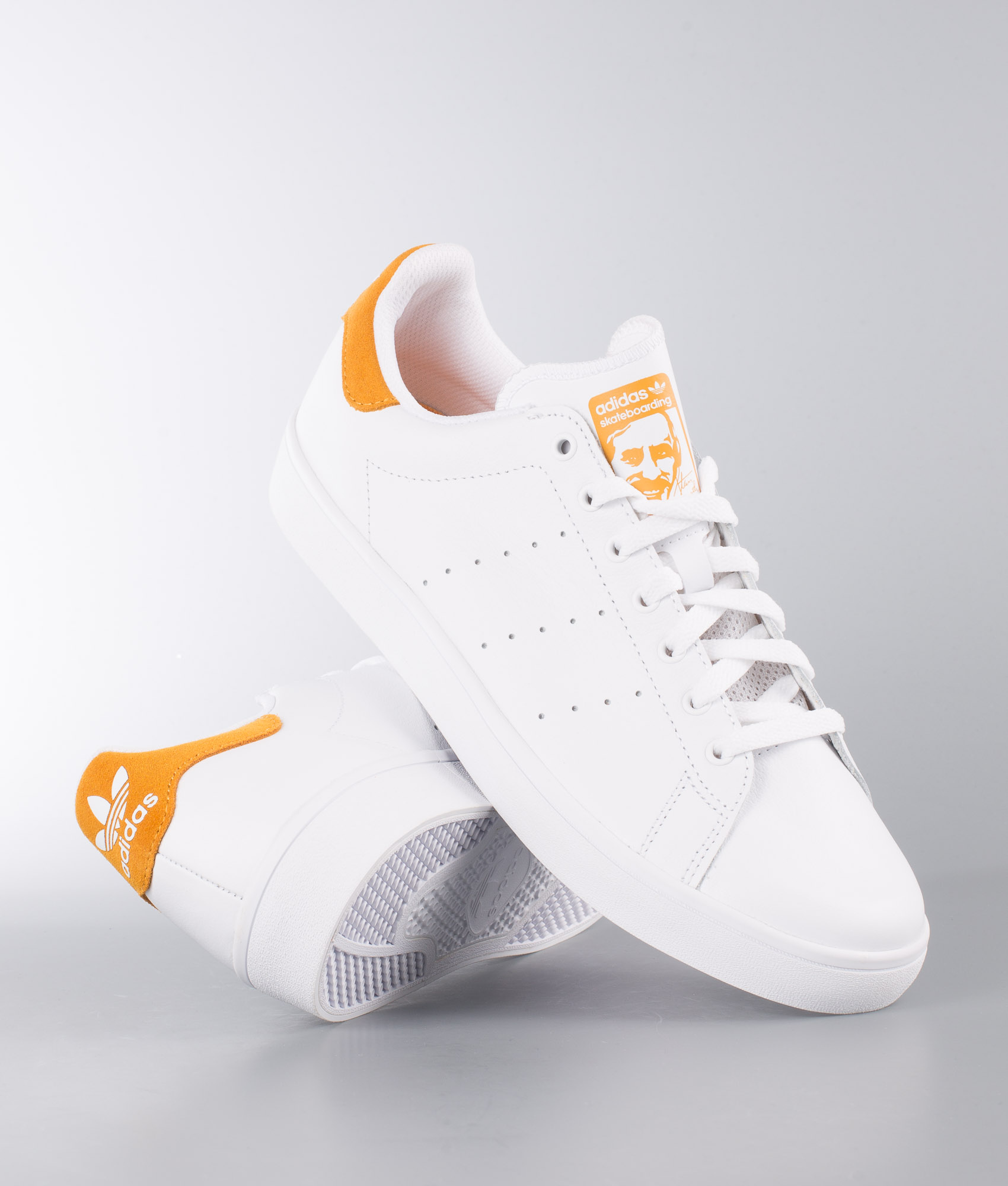 nouveau concept 85c58 a4edb Adidas Skateboarding Stan Smith Vulc Shoes Ftwr White/Ftwr White/Tactical  Yellow
