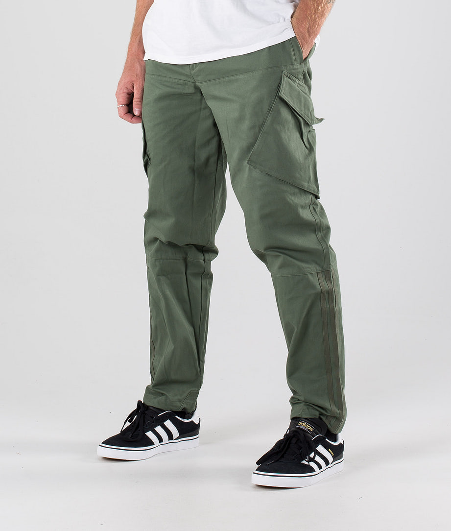 Adidas Skateboarding Cargopants Housut Base Green