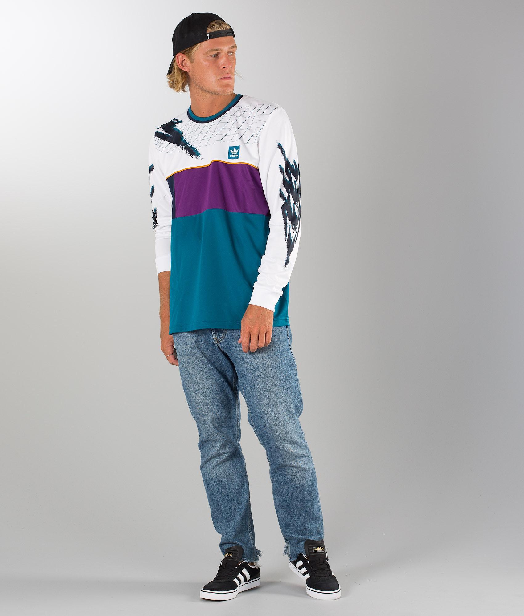 separation shoes a672e 1c5fa Adidas Skateboarding Tennisjersey T-shirt