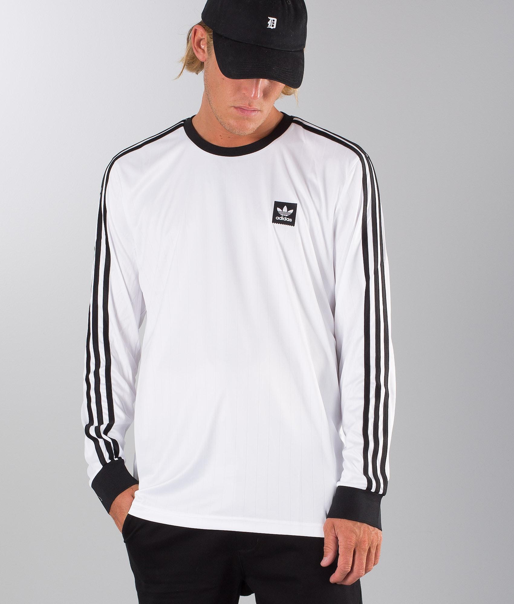 80ce63dd Adidas Skateboarding Ls Club Jersey Longsleeve White. White/Black
