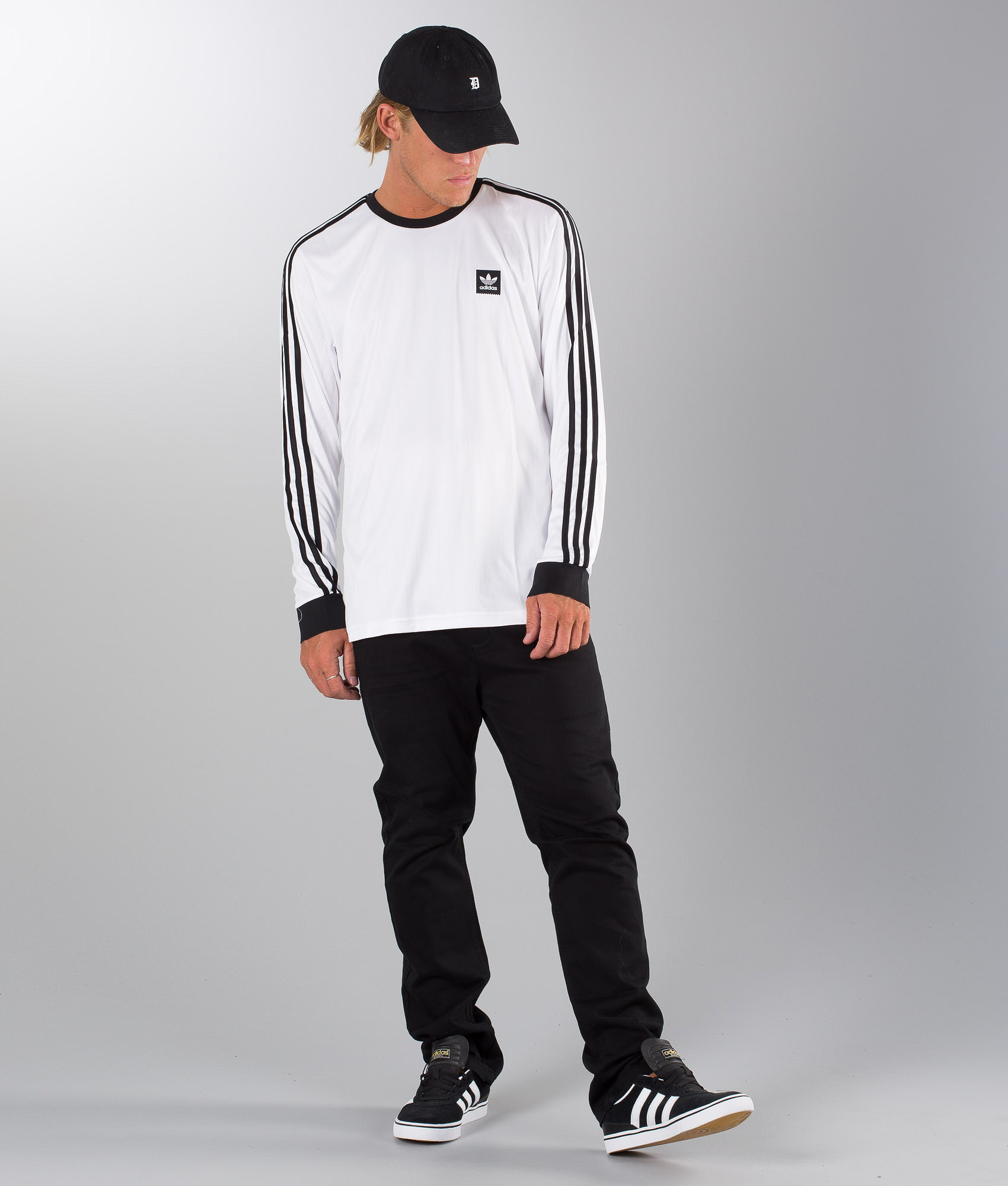 san francisco 91a6d 759e0 Adidas Skateboarding Ls Club Jersey Longsleeve