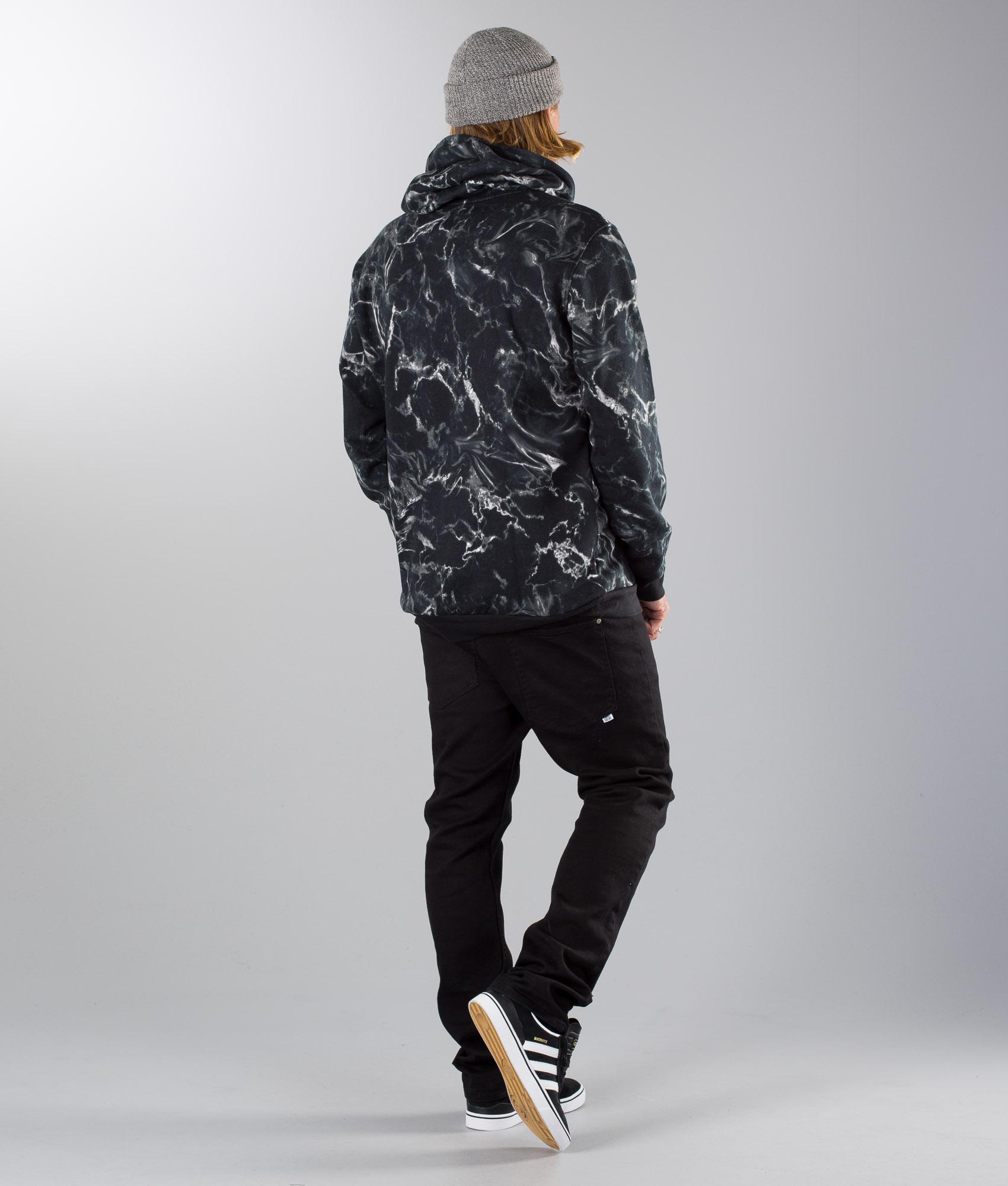 Adidas Skateboarding Marble Aop Hoodie BlackWhite