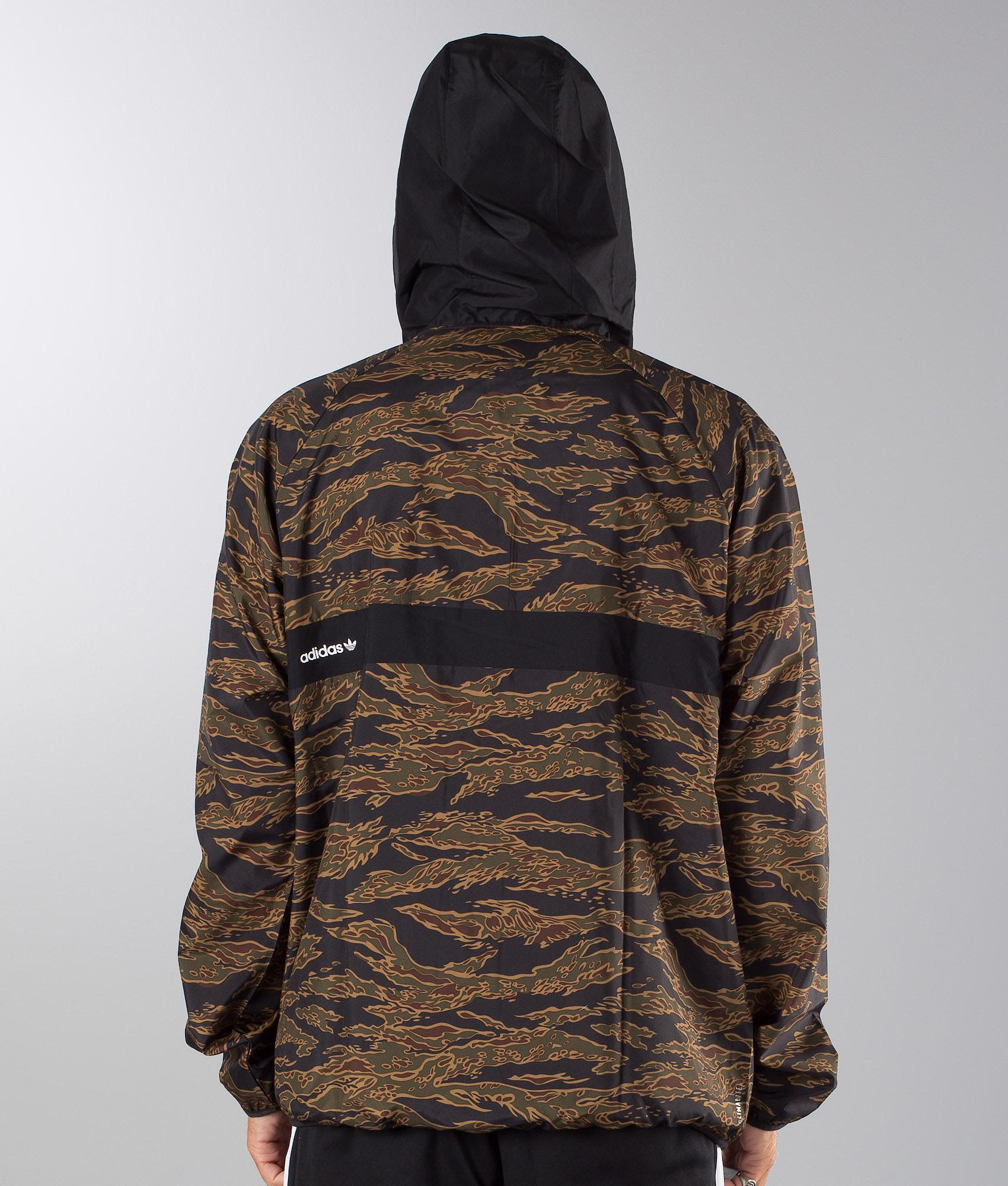 831c552c3 Adidas Skateboarding Camo Blackbird Packable Jacket Camo Print/Black ...
