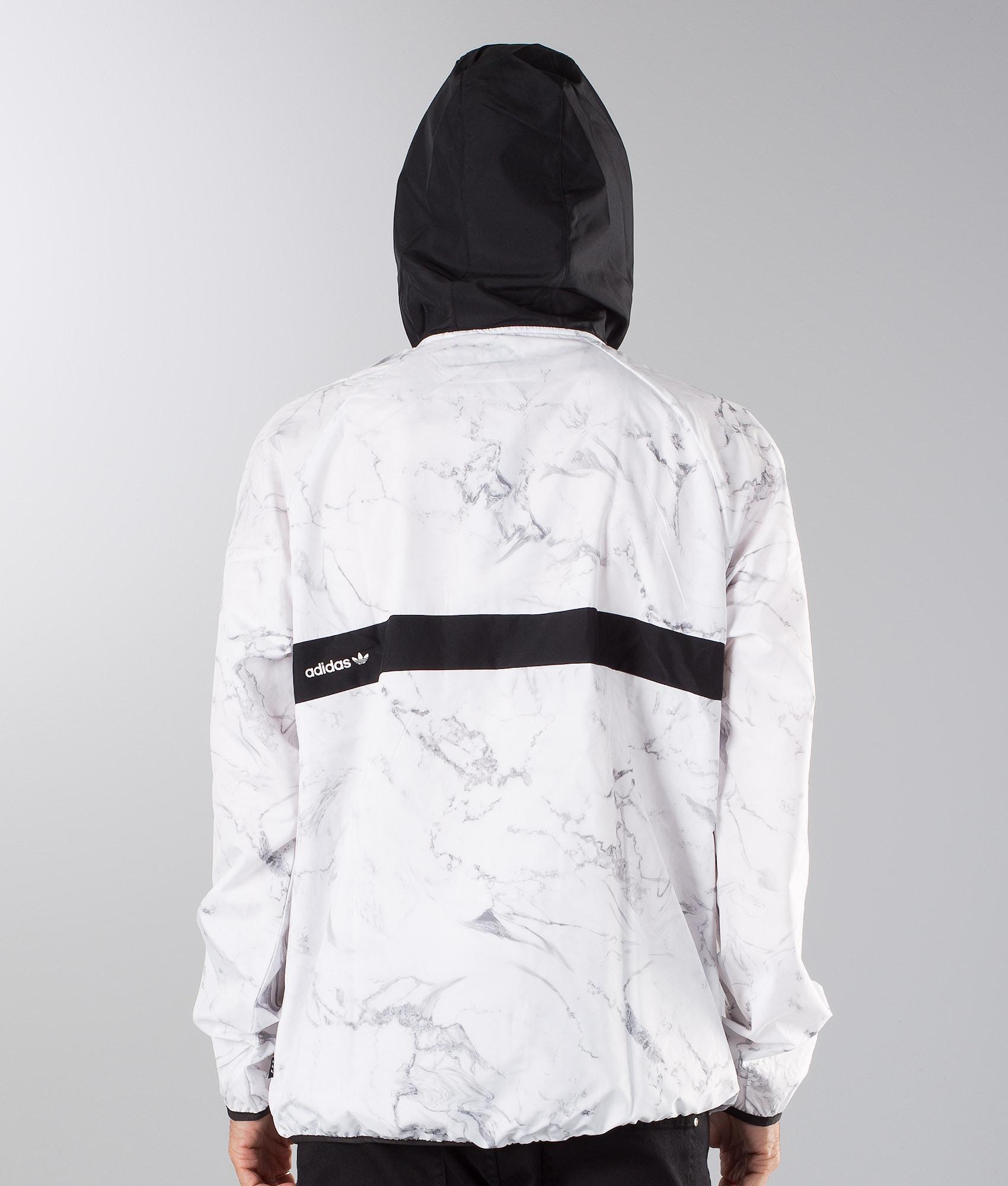 42bf99efd Adidas Skateboarding Marble Blackbird Packable Jacket White/Dgsogr ...
