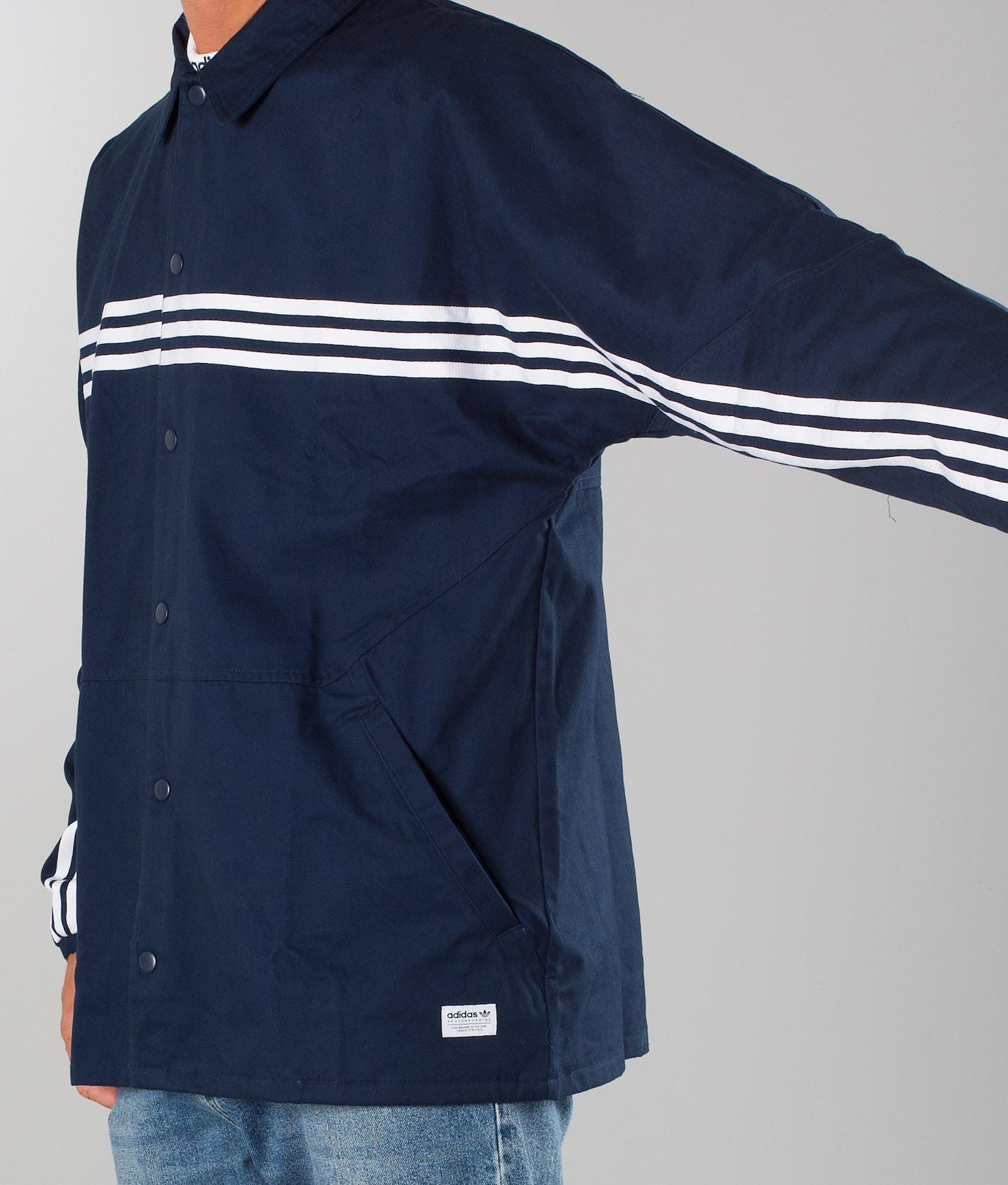 943d4470d4d7 Adidas Skateboarding Schlepp Jacket Collgegiate Navy/White