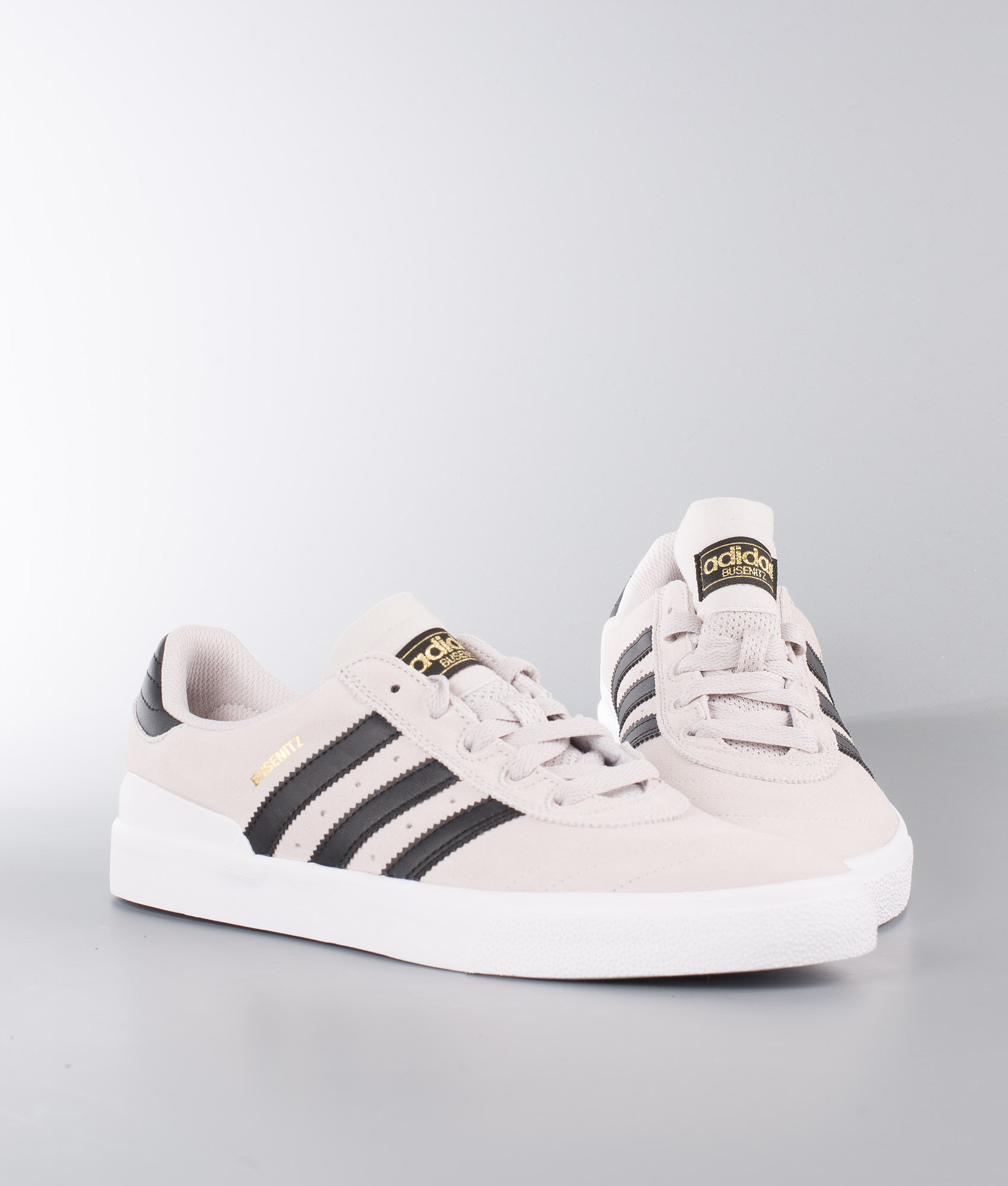 Adidas Skateboarding Busenitz Vulc Shoes Crystal White Core Black ... 55a845f110bc